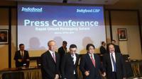 Konferensi pers PT Indofood CBP Sukses Makmur Tbk pada Rabu 29 Mei 2019 (Foto:Merdeka.com/Dwi Aditya Putra)