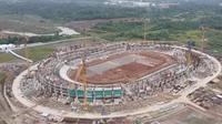 Pembangunan Stadion Banten. (Dok PTPP)