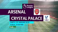 Premier League_Arsenal vs Crystal Palace (Bola.com/Adreanus Titus)