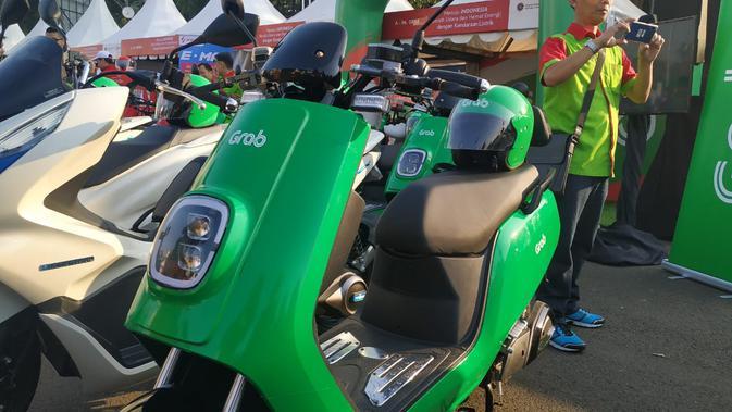 Grab ikut dalam pameran kendaraan listrik di monas