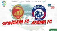 Liga 1 2018 Sriwijaya FC Vs Arema FC (Bola.com/Adreanus Titus)