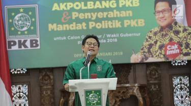 PKB Umumkan Dukungan Paslon Pilgub di Sejumlah Daerah