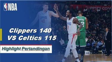 Lou Williams mencetak skor 34 ketika Clippers menang atas Celtics