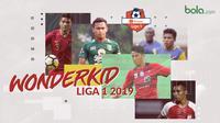 Wonderkid Liga 1 2019. (Bola.com/Dody Iryawan)