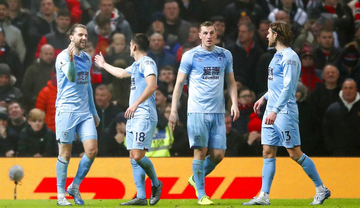 FOTO Manchester United Dipermalukan Burnley Di Old Trafford