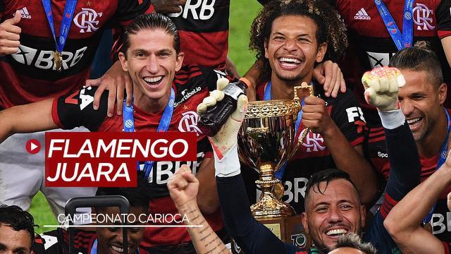 Berita Video Flamengo Jadi Tim Amerika Selatan Pertama yang Menjuarai Liga Ditengah COVID-19