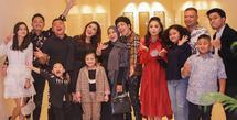 Keluarga Anang Hermansyah dan Raul Lemos (Instagram/krisdayantilemos)