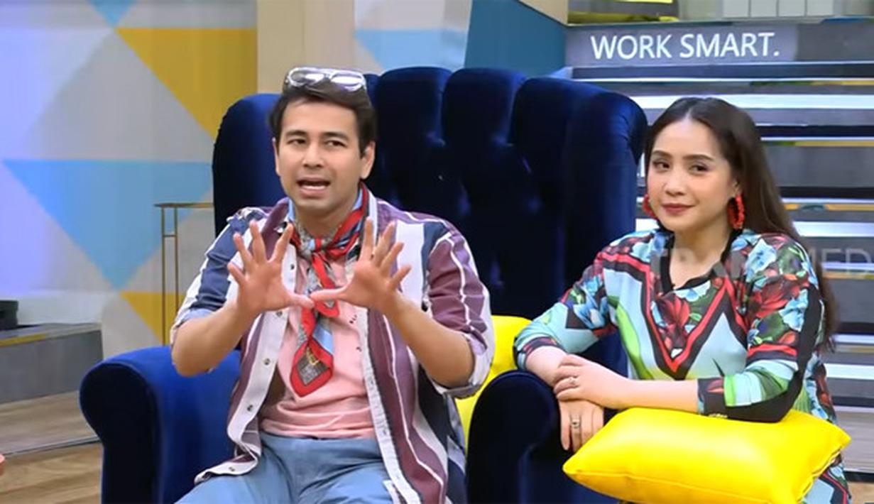 Raffi Ahmad dan Nagita Slaviva (Youtube/TRANS7 OFFICIAL)