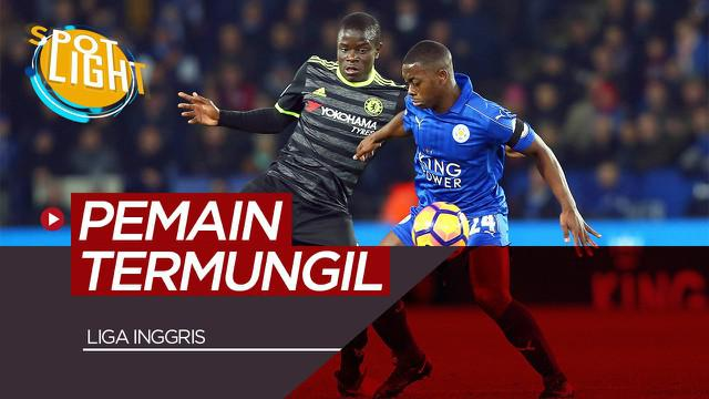 Berita video spotlight kali ini akan membahas pemain dengan postur tubuh mungil di Liga Inggris diantaranya Ngolo Kante dan Ryan Fraser.