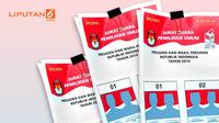 Banner Infografis Jadwal Pencetakan dan Distribusi Surat Suara Pemilu 2019.(Www.sulawesita.com)