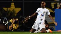 Striker anyar Real Madrid, Rodrygo Goes. (AFP/Nelson Almeida)