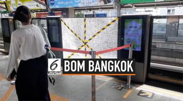 Hari ini (2/8) Bangkok diguncang teror ledakan dari 6 bom. tiga meledak di dekat gedung pemerintahan, satu tidak jadi meledak di dekat gedung lain, dua lainnya meledak di dekat stasiun BTS.