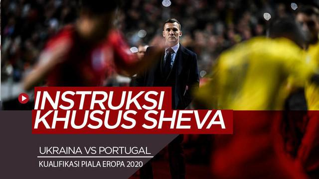 Berita Video Jelang Ukraina Vs Portugal, Shevchenko Keluarkan Instruksi Khusus Untuk Taklukkan Cristiano Ronaldo di Kualifikasi Piala Eropa 2020