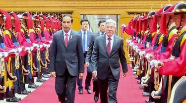 Kedatangan Presiden Republik Indonesia di Seoul, Republik Korea, 15 Mei 2016