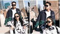 Salim Nauderer susul Rachel Vennya ke New York, nikmati waktu bersama. (Sumber: Instagram/rachelvennya)