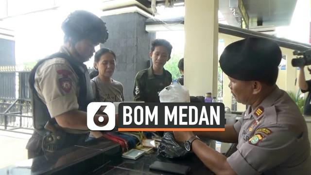 Pasca ledakan bom di Polrestabes Meda, Poles Metro Bekasi Kota memperketat pengamanan markasnya. Polisi memeriksa setiap pengunjung yang datang. Pengamanan ketat juga dilakukan di Polsek-Polsek di lingkungan Polres Metro Bekasi Kota.