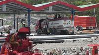 PT Pertamina (Persero) melakukan kick off Pemulihan Infrastruktur Terminal BBM Donggala.