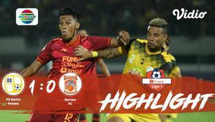 Babak Penyisihan #ShopeeLiga1 yang mempertemukan #PS Barito Putera vs #Borneo FC pada hari Kamis malam (31/10/2019) dengan skor 1-...