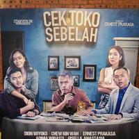 Poster Film Cek Toko Sebelah (Twitter)