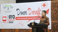 Bertempat di Plaza Nusantara IV, Komplek Gedung MPR/DPR/DPD, Jakarta, pada 19 Juli 2017 digelar kegiatan donor darah.