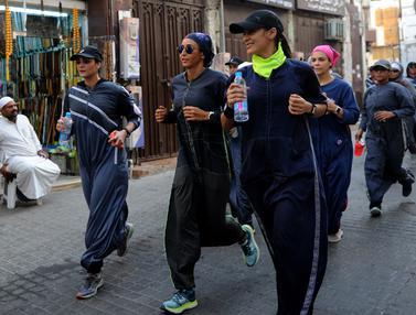 Perempuan Arab Saudi Rayakan Women's Day