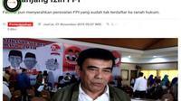 [Cek Fakta] Gambar Tangkapan Layar Foto Menteri Agama Fachrul Razi