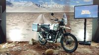Royal Enfield Himalayan untuk pasar nasional meluncur di IIMS 2018 (Septian/Liputan6.com)