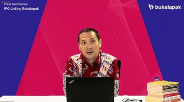 Presiden Direktur Bukalapak, Rachmat Kaimuddin (Dok: Istimewa)