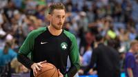 Gordon Hayward gagal memberi kemenangan saat comeback untuk Boston Celtics (Lance King / GETTY IMAGES NORTH AMERICA / AFP)