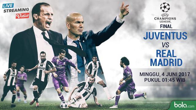Saksikan Live Streaming Juventus Vs Real Madrid Di Bola Com Dunia