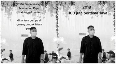 Kisah Jatuh Bangun Pria Sejak Orang Tua Meninggal Saat Tsunami Aceh Ini Bikin Salut