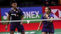Ganda campuran Indonesia Praveen Jordan / Melati Daeva Oktavianti menjadi runner up Yonex Thailand Open 2021 setelah kalah dari Dechapol Puavaranukroh / Sapsiree Taerattanachai di final, Minggu (17/1/2021). (foto: BWF-limited acces)