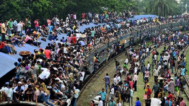 Ternyata bukan cuma Indonesia, negara lain yang melakukan kebiasaan mudik juga mengalami kemacetan.