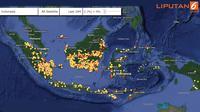 Banner Infografis Kebakaran Hutan dan Bencana Kabut Asap di Indonesia. (Sumber Foto: Lapan)