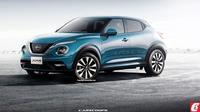 Menerka Wajah Nissan Juke 2020 (Carscoops)
