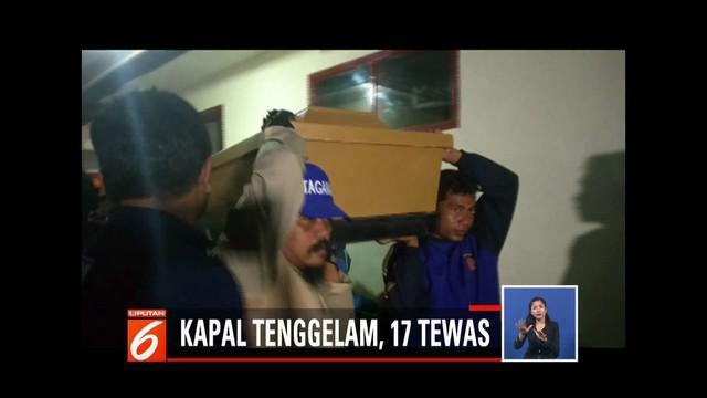Sebanyak empat korban tenggelamnya KM Arin Jaya belum ditemukan.