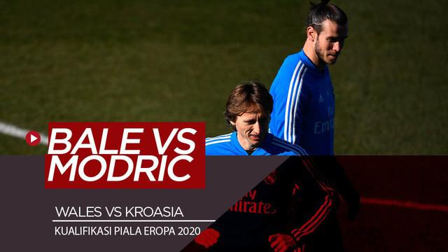 Berita Video Jelang Wales Vs Kroasia, Gareth Bale Pahami Luka Modric Sejak Dulu