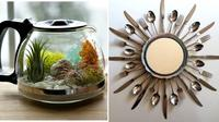 Peralatan dapur untuk dekorasi rumah (Sumber: Brightside)