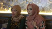 Inggrid Kansil dan Dorce Gamalama (Zulfa Ayu Sundari/Liputan6.com)