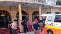 Tahir Tenro, Jemaah Masjid Raya Parepare ini meregang nyawa dirakaat ketiga saat sedang salat asar.