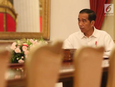 26 Hari Jalan Kaki, Sopir Truk  Agus Yuda Diterima Presiden Jokowi