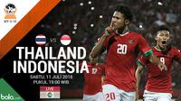 Jadwal Final Piala AFF U-16, Thailand Vs Indonesia. (Bola.com/Dody Iryawan)