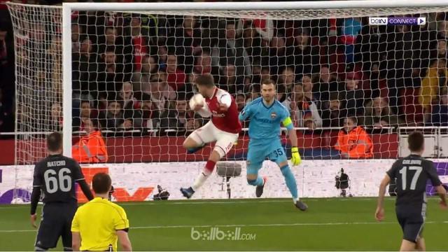 Arsenal meraih kemenangan 4-1 atas CSKA Moscow dalam lanjutan babak 8 besar Liga Europa. This video is presented by Ballball.