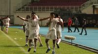 Gelandang Persija Jakarta, Novri Setiawan, mencetak satu-satunya gol dalam kemenangan 1-0 atas Borneo FC. (dok. Persija Jakarta)