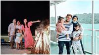 Keluarga artis liburan (sumber: Instagram/sarwendah29/fairuzarafiq)