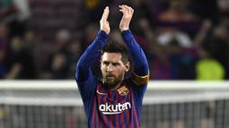 1. Lionel Messi - Barcelona : 686 Voting. (AFP/Lluis Gene)