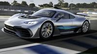 Mercedes-AMG Project One bermesin F1.(Carscoops)