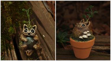 Ciptakan Patung Mini dari Tanah Liat, 6 Karya Seniman Ini Detailnya Sempurna