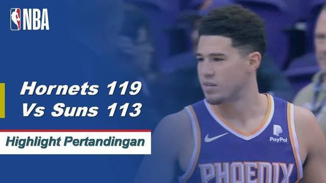 Sumber Kemba Walker 29 saat Hornets mendapatkan kemenangan atas Suns, 119-113.