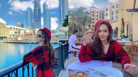 Momen Liburan Dianda Sabrina di Dubai. (Sumber: Instagram/sabrinadh)